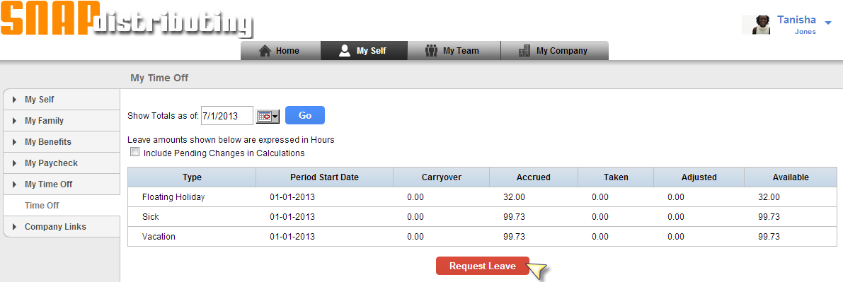 Chains can now be added upon to create multiple approvers for a single Leave Request.