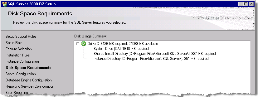 StruxureWare Power Monitoring 7.0.1 Installation Guide Installing SQL Server Click Next when you complete your selections.