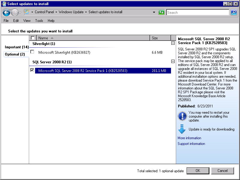 Installing SQL Server StruxureWare Power Monitoring 7.0.1 Installation Guide The Complete page contains a link to the Summary log.