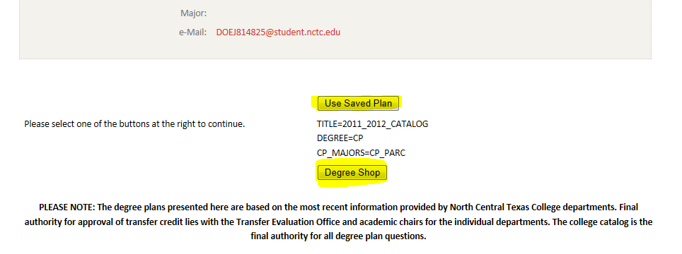 Your Degree Audit can be found in your Student Dashboard under the Registration tab.