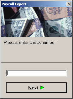5. Enter a check number for the manual check, then click. 6. You will now be back on the Check Lines tab, in your manual check.