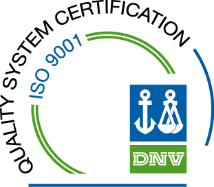 CERTIFICATIONS ALL OUR PLANTS ARE CERTIFIED ISO 9001 / Quality: company process optimization to ensure an ever-increasing fulfilment of client requirements.