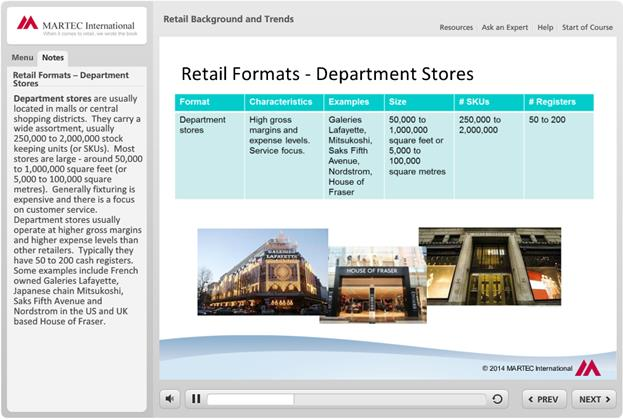 Program Contents 1 - Retail Background and Trends What is retailing?