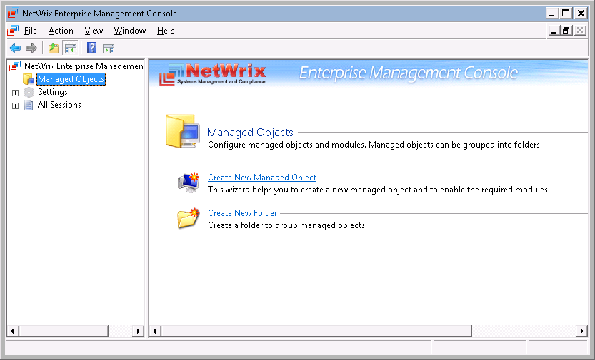 5. CONFIGURING MANAGED OBJECTS In NetWrix Event Log Manager, a Managed Object is a computer collection that you monitor for events.
