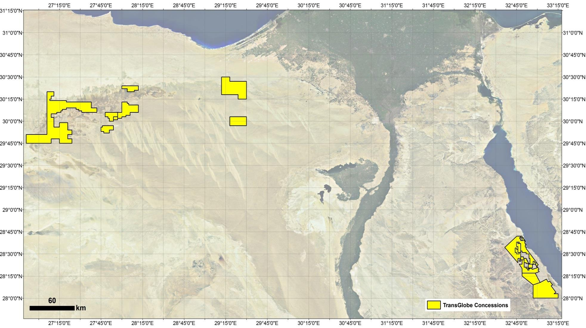 EGYPT ASSETS East Ghazalat (50%) Acquired 2010 102,000 Gross acres Dev & Expl South Alamein