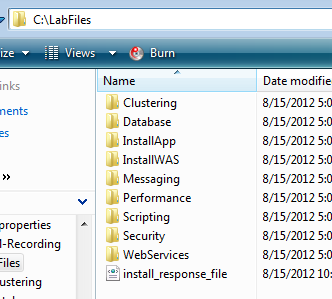 34. Check in your <LABFILES_DIR> folder that you see the XML response file that was recorded.