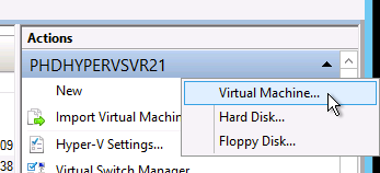 PHDVB v7 for Hyper-V 13. In the Hyper-V Services Credentials area, for PHD User Name and PHD Password, enter the credentials to use when communicating with the PHD Hyper-V Services.