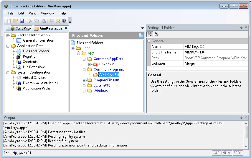 Ability to Edit App-V 5.0 Packages Using Virtual Package Editor In AdminStudio 2013, you can use Virtual Package Editor to edit App-V 5.0 packages to perform tasks such as customizing the App-V 5.