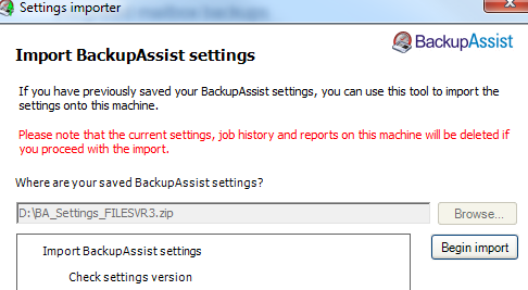 8 You can retrieve data from a TrueCrypt volume using the BackupAssist Restore Console.