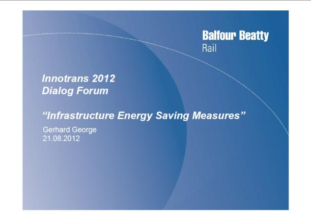 Slides can be downloaded on the VDB website Download at: www.bahnindustrie.