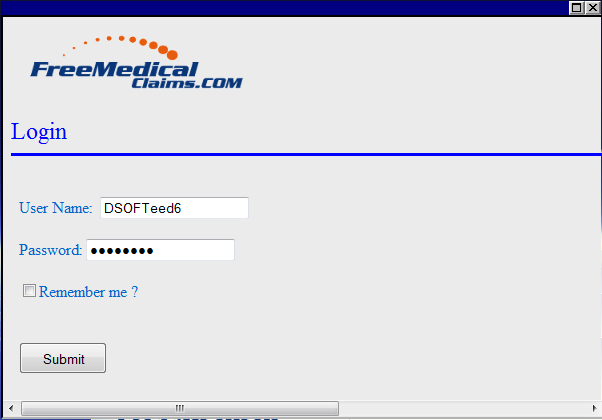 Upload Claims manually to any Clearing house. (Free Medical Claims) - Go http://www.freemedicalclaims.
