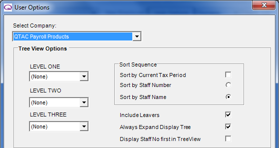 Right click the employees name down the left hand side Select Employee Maintenance On the first tab General, select the Division/Department/Location from the drop down menu in the bottom left hand