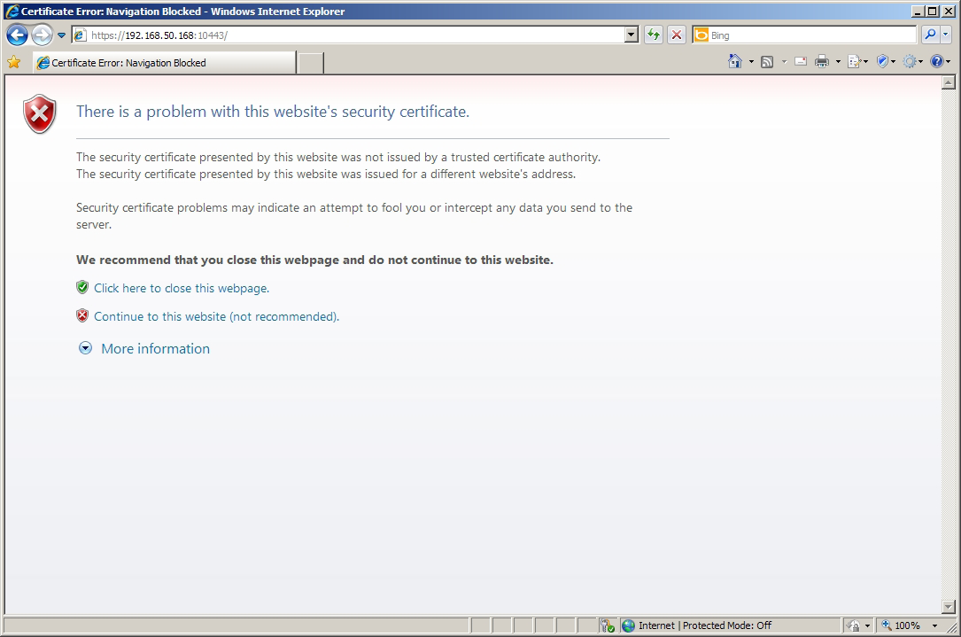 Accessing ViewSonic Device Manager Remotely with a Web Browser Message about Security Certificate: Mozilla Firefox Message about Security Certificate: Microsoft Internet Explorer 4.