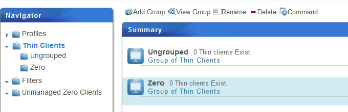 Managing All Your Clients 3.4.3 Creating Client Groups You can create a client group for putting a set of clients together for ease of management. The default client group is Ungrouped.