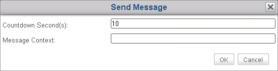 Managing All Your Clients 3.4.18 Sending Messages to Clients To send a message to the managed client(s), please do the following: 1.