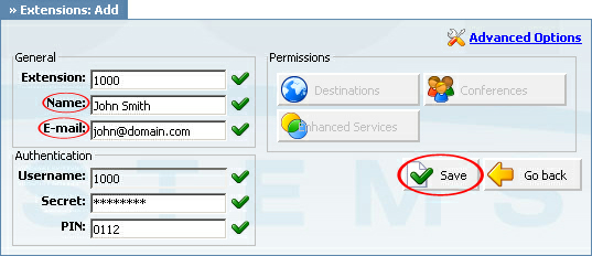 "Registering Cisco 7940 8 Note: -""Local"" is for all extensions registered on LAN. -""Remote"" is for all extensions registered from remote networks, WAN, Internet etc. 5. Click on the ""Next"" button."