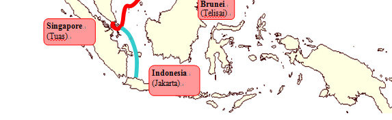 Investment in New Submarine Cables SJC & APG Southeast Asia Japan Cable (SJC) CT takes the Hong