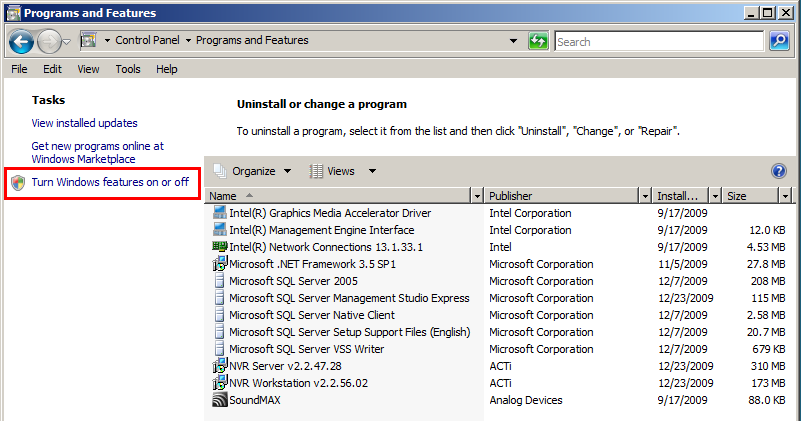 Sample Screenshots are taken from Windows 2008 Server Standard Edition. 1.