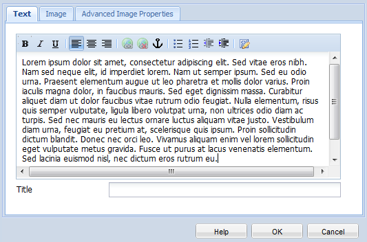 8. How to create a new page 22 6. Double-click on the component to edit.