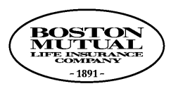 MAIL FORMS TO: BOSTON MUTUAL LIFE INSURANCE COMPANY 120 Royall Street Canton Massachusetts 02021 1-800-669-2668 or 781-828-7000 LIFE CLAIM FORM Policy Numbers of the Company under which claim is made