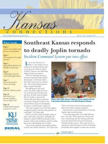 Articles feature rural, health care facilities,