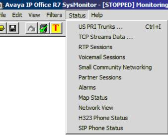 You can also check Monitor and open SIP Phone Status at the bottom of