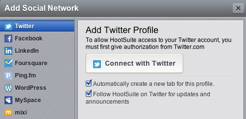 Hootsuite Hootsuite is a tool initially developed to manage Twitter but over time they have added the capability of managing other social media tools as well.