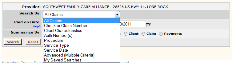 ) To export the report results to a spreadsheet file, click EXPORT at the top right corner of the search results area and select CSV (Tab) for a standard spreadsheet.