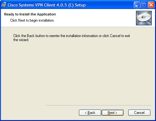 Select Next to accept the default installation location as shown in the figure below.