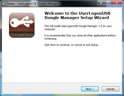 8 Installation, uninstallation 3.2 Installing the Dongle Manager on the PC 3.2.1 System requirements for running Minimum Hardware Requirements PC with min.