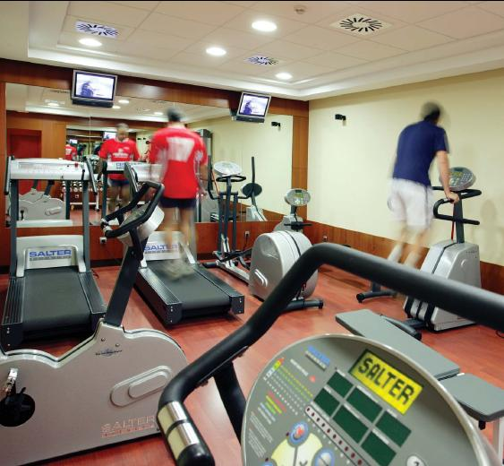 Facilities For those who want to keep fit there is a full-equipped