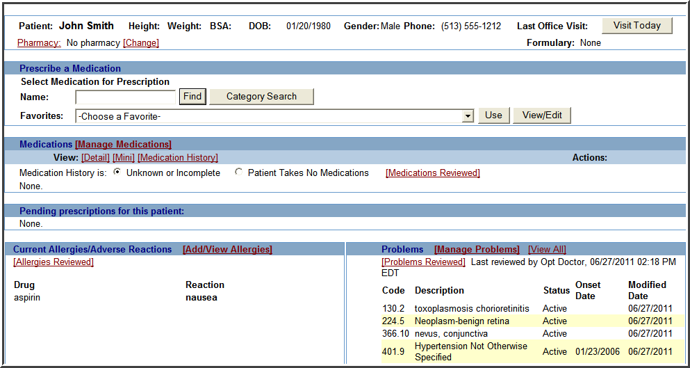 3. Maintain an up-to-date problem list of current and active diagnoses (continued) In