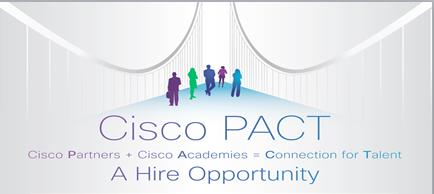 A bridge between Cisco Partners and a pipeline of IT talent.