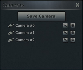 Camera Navigation Controls also differ accordingly to the current camera mode.