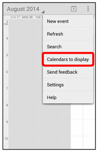 Sync Calendars You can select which calendars you d like to sync on your phone, along with what types of information you