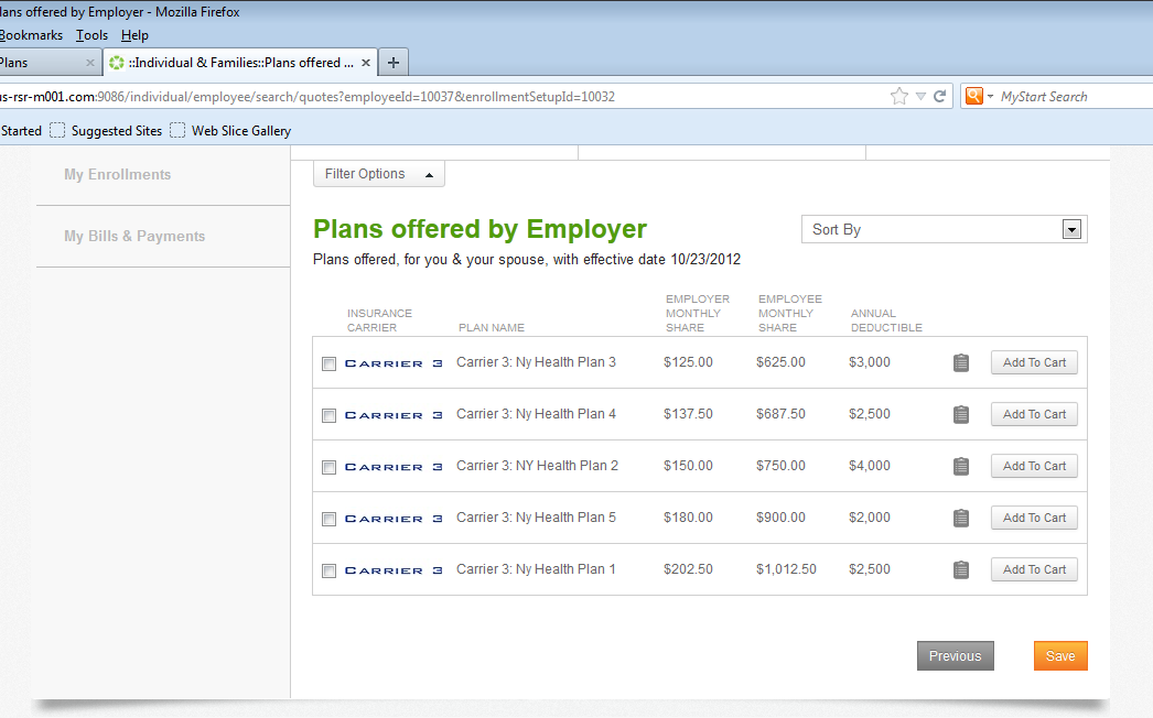 Eases the process for employees Easy account