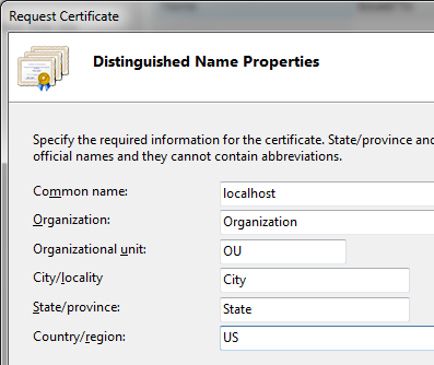 Create the CSR for an IIS website To generate a CSR for your website, access IIS - Computer Manage Service and Applications IIS Manager Server Certificates, like below: IIS Configuration select