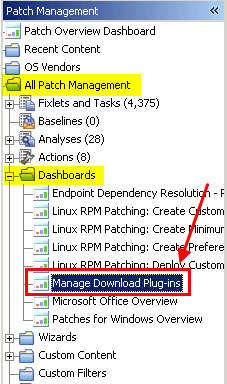 If you already registered the plug-in, you can use the Manage Download Plug-ins dashboard to run the update. You must use the dashboard also to unregister and configure the download plug-in.