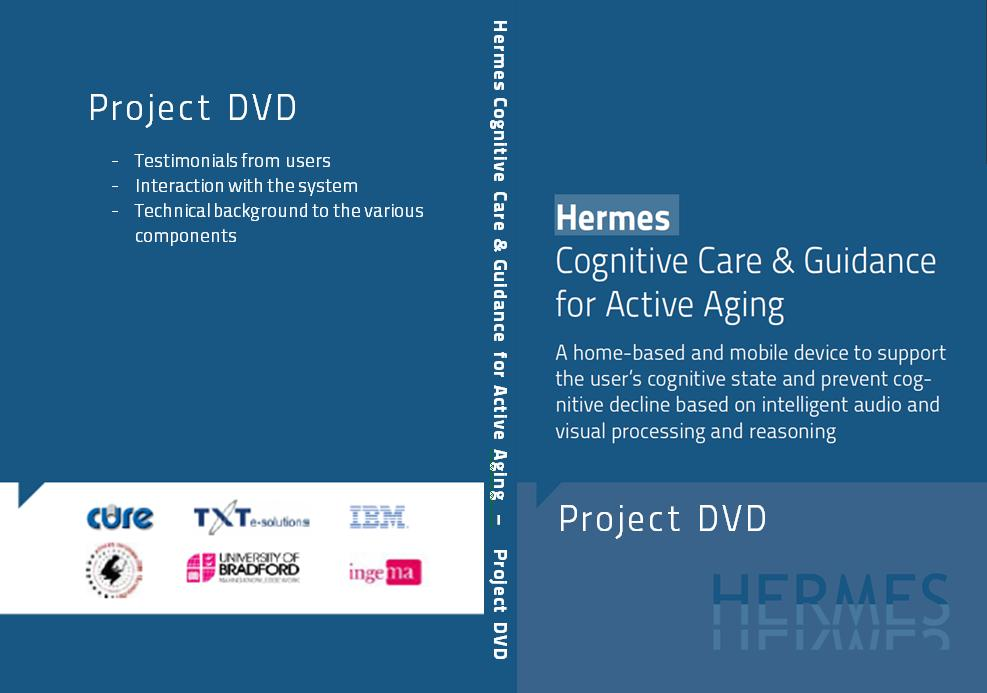 Technological backgrounds to the system. The videos are available on the project website at http://www.fp7-hermes.eu/video.html 2.