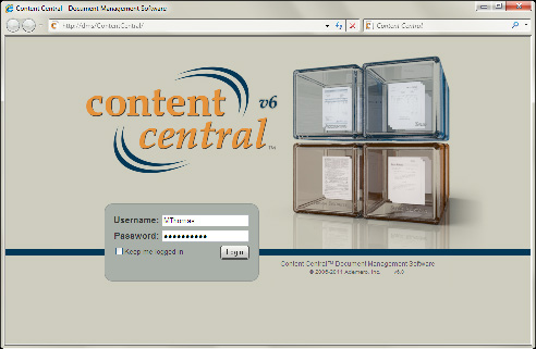 The All-In-One Browser-Based Document Management Solution General Overview of Content Central Content Central sets the standard for document management and workflow solutions.