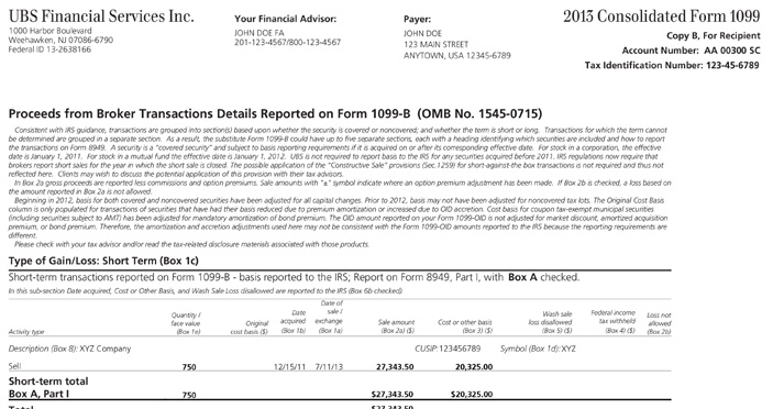 Tax forms for non qualified stock options