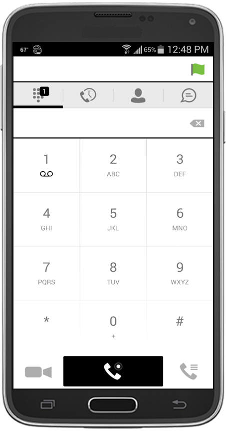 1 About XO Hosted PBX UC Mobile Client By adding XO Hosted PBX WorkTime UC-Mobile Client to an Android or ios device, users can leverage a convenient and intuitive interface for mobile calling