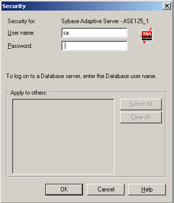 Restore How the Sybase Adaptive Server Security Works When you browse a server, CA ARCserve Backup begins communicating with the agent.