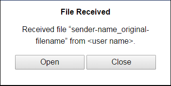 2. The file name format will be sender-name_original-filename. Troubleshooting and rules to remember when sharing files with NovoPresenter 1.
