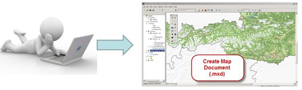 These services can be accessed through custom web mapping applications or traditional GIS desktop applications.