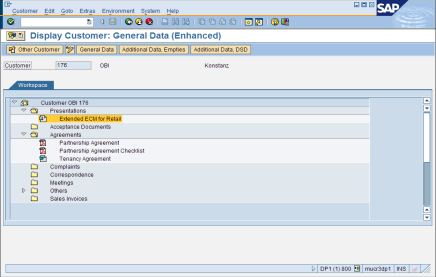 Numerous Interfaces to Business Workspaces SAP GUI SAP CRM