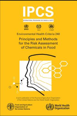 Principles and Methods http://www.who.int/foodsafety/chem/principles/en/index1.