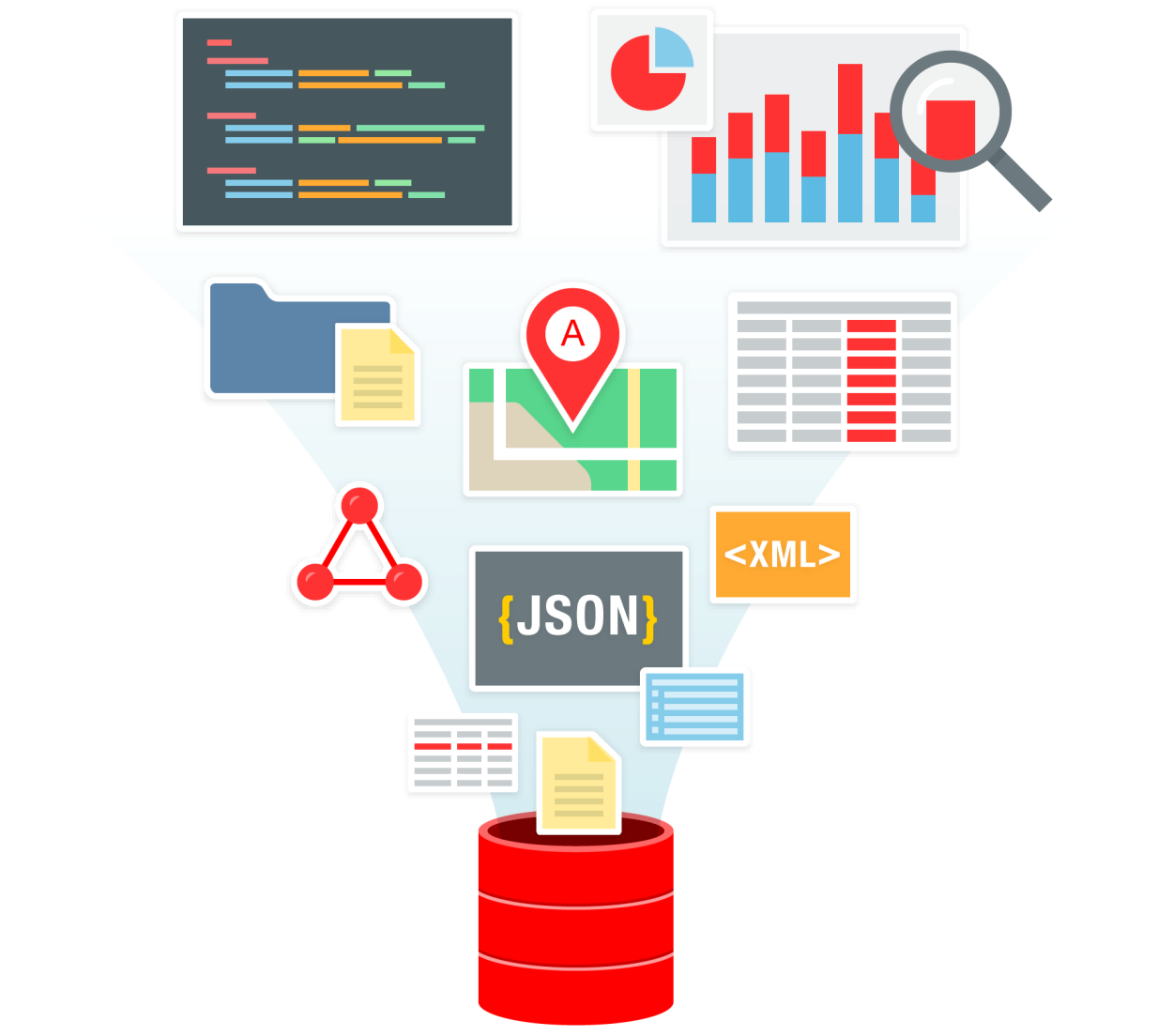 The Power of Oracle SQL for a ide ariet of Big Data t pes Structured data Nu eri, stri g,