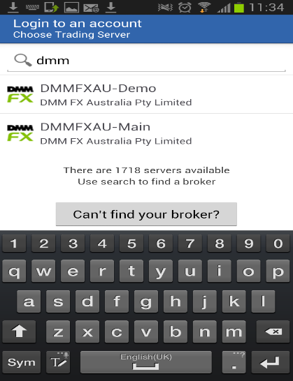 Downloading MetaTrader 4 Application To begin trading with DMM FX Australia s Android application, you will need to complete the following: Create an account with DMM FX - Both Demo and Live accounts