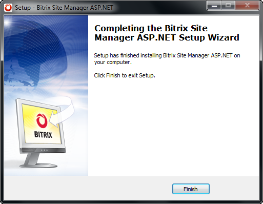 Step 6. The Final Step This window informs that the system has been successfully installed on your machine (fig. 3.